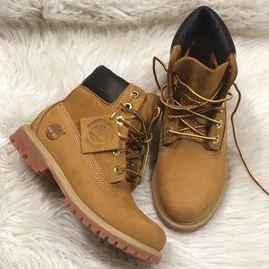 Tan Timberlands